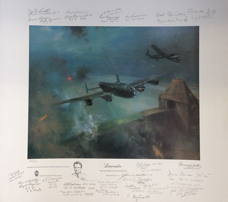 Lancaster by Frank Wootton