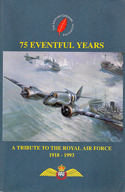 75 Eventful Years A Tribute to the Royal Air Force 1918 - 1993