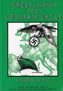 Green Kiwi versus German Eagle by J Norby King