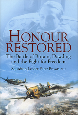 Honour Restored by Peter Brown
