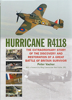 Hurricane R4118 by Peter Vacher