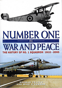 Number One in War and Peace by Norman Franks and Mike O'Connor