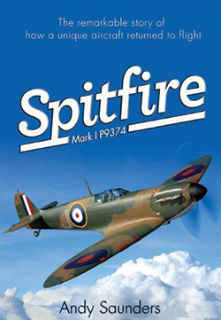 Spitfire Mark 1 P9374 by Andy Saunders