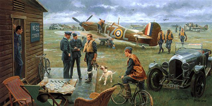 Return to the Bump/Biggin Hill, Summer 1940 by Gil Cohen