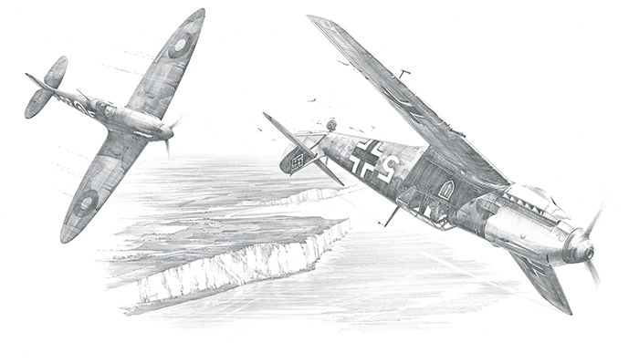 Achtung Spitfire by Nicolas Trudgian