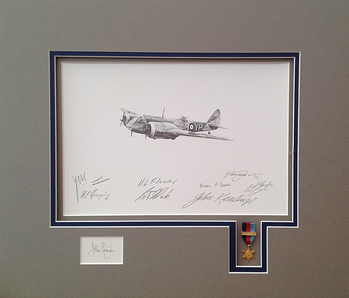 The Blenheim Battle of Britain Tribute Edition by Nicolas Trudgian