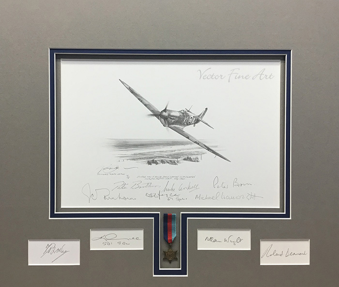Dunkirk Tribute Edition Original Drawing by Nicolas Trudgian