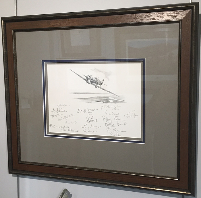 Return of the Few - An original pencil drawing by Nicolas Trudgian