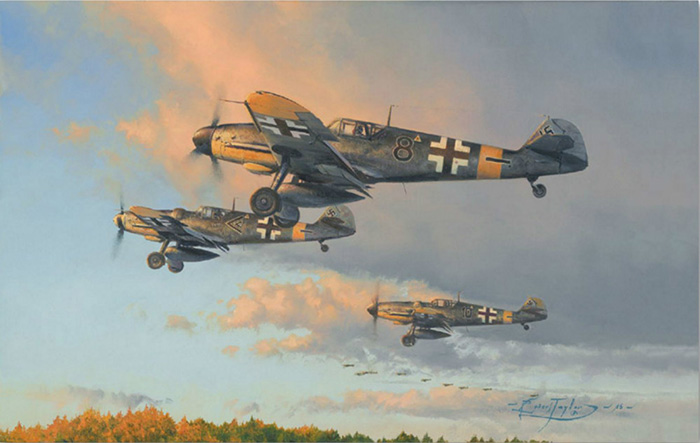 Hunters at Dawn by Robert Taylor
