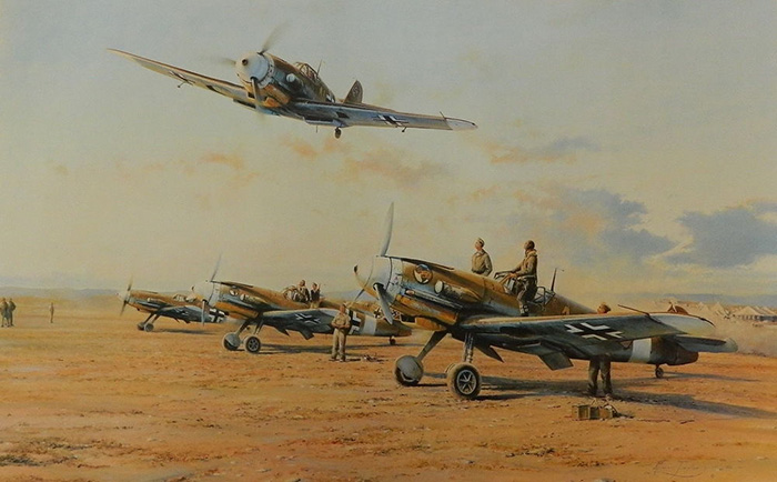 Hunters in the Desert by Robert Taylor