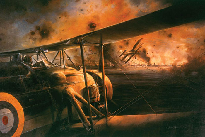 The Swordfish Attack at Taranto by Robert Taylor