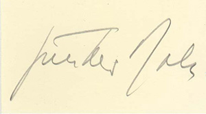 Gunther Rall signature